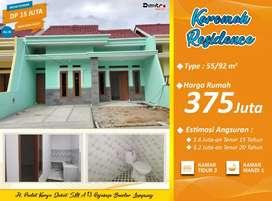 Rumah Murah Luas Tanah 92 m2