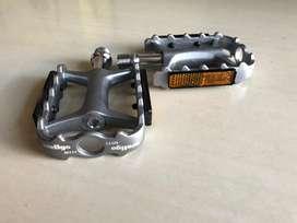 pedal wellgo m111 wrn titanium , sepeda lipat