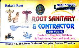 Rout Plumber, Sanitary & Contractor work