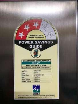 Bosch fridge 290ltr