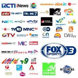 Antena tv pakai Parabola Mini Stb Gol GARMEDIA Siaran Terlengkap