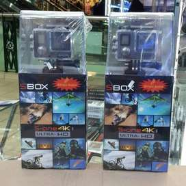 Action Cam Sport Cam Sbox S-One MarkII Dual Lcd 21Mp Sensor Sony