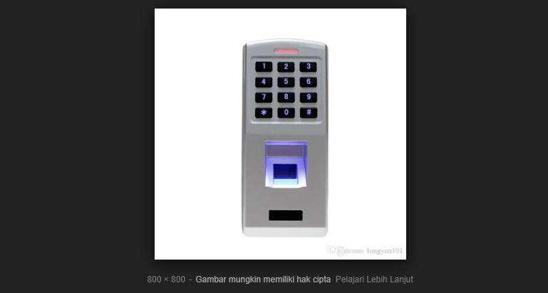 Jual RFID Proximity X1 KW2 Access Control / Akses Kontrol Kunci Pintu 0