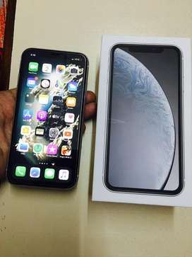 Iphone XR available with 10months warranty with bill box n accesories