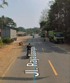Tanah Pinggir Jalan Raya Jalur Padalarang Purwakarta Dijual Murah