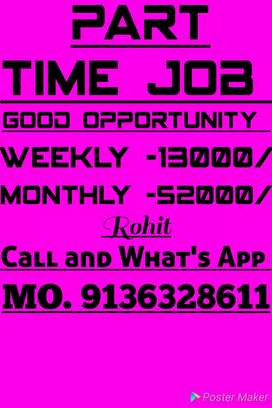 Home blessed job best income good opportunity