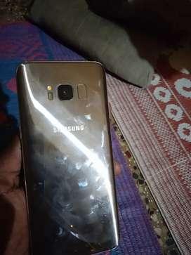 Samsung s8 verry good condition  4gb   64gb internal