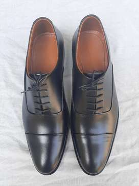 BEST OXFORD REAL LEATHER HAND MADE FORMAL SHOES FOR MEN