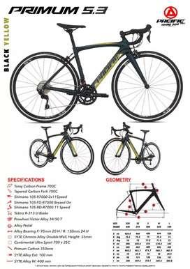 Pacific Primum 5.3 700c Roadbike