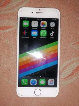 Iphone 6s 16gb good condition new phone bill chrger only