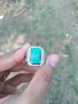 Zamrud Columbia / Natural Emerald Beryl Asli