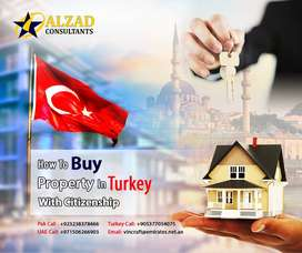 Turkish Citizenship by lend in Real Estate $250,000/-