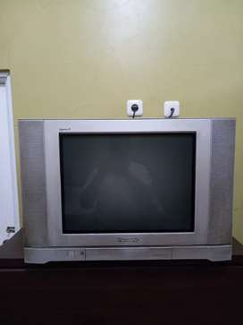 TV Panasonic flat 21 inch& remote 400 rb