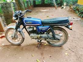 TVS max 100 concerted to RX 100 (body and silencer)