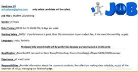 Student Counselling / Receptionist
