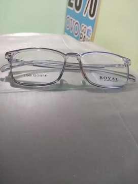 Frame Kacamata Kotak Warna Hitam