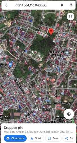 Tanah 300m2 siap bangun jl minangkabau, batu ampar balikpapan