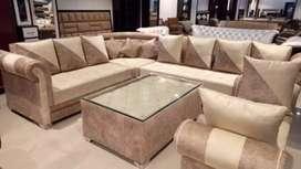 Corner sofa set new whole seal tearr kr ke dita jnda