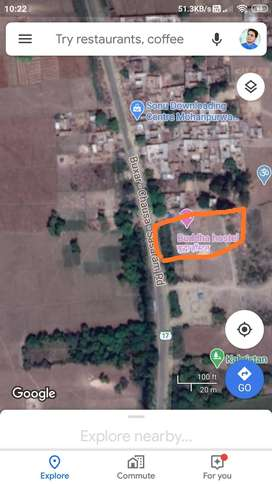 2500 ft^2 Land for rent in front of sjvnl power plant main gate