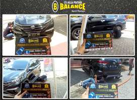 Mobil modif cocok juga di pasang BALANCE Sport Damper