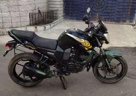 Sale Yamaha Fz-s military edition colour bike 37k