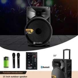 Speaker portable soundbest 15 inchi