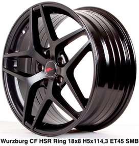 menjual WURZBURG CF HSR R18X8 H5X114,3 ET45 SMB