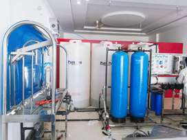 Mineral Water Plant. Ro Filteration Setup