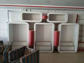 Outlet furniture for shop outlet and showroom boutique