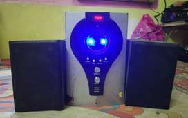 Iball woofer and speaker