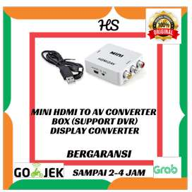 MINI HDMI To AV Converter Box (Support DVR)