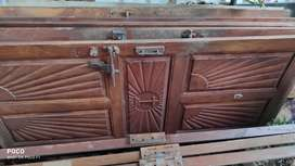 Doors, windows, and ceiling timber