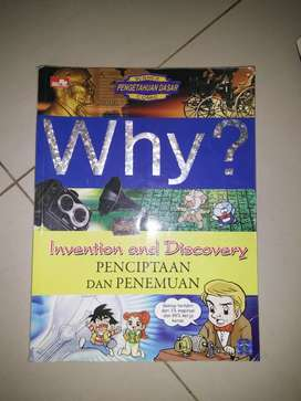 Science pengetahuan dasar WHY? Invention and discovery