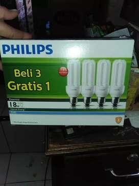 Lampu philips 18 watt