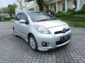 Toyota Yaris S AT 2013 Silver TDP 15 JT