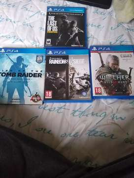 4-PS 4 games for sale