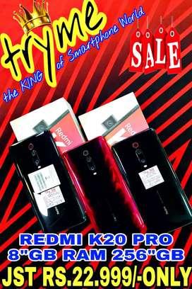 TRYME 256Gb/8Gb RAM REDMI K-20 PRO Full Kit  Box