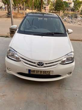 Uber attached Etios for sale