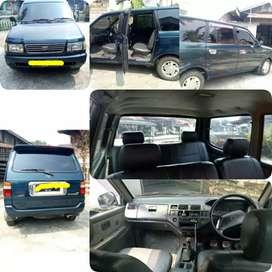 mobil kijang LGX th 1999 kondisi mulus harga nego