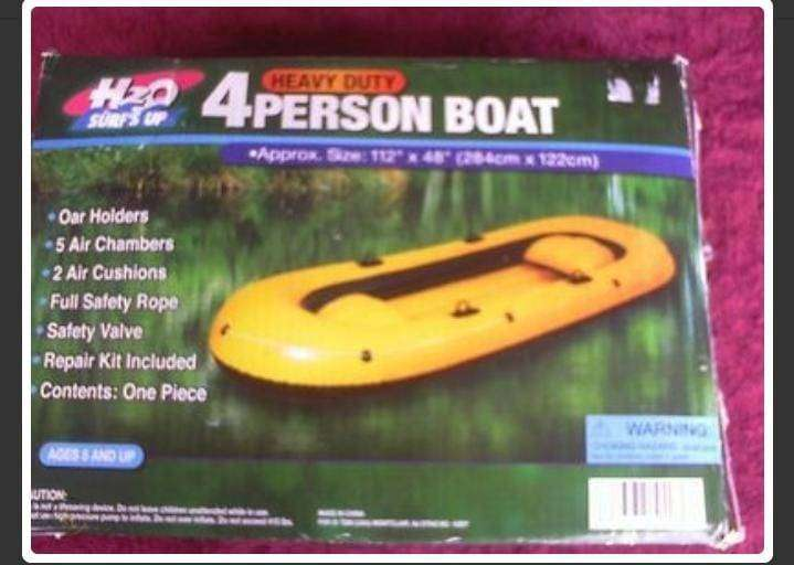 H20 SURFING BOAT ALSO USE FOR EMERGENCY RESCUE