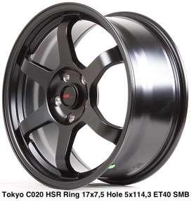 Velg Mobil TOKYO C020 HSR R17X75 H5X114,3 ET40 SMB
