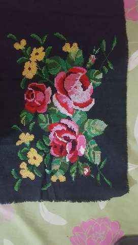 Cross stitch emboidery