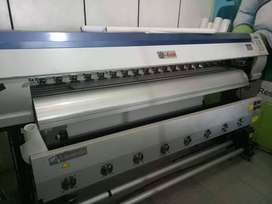 Mesin Digital Printer Ecojet Maxima UV Bekas Murah
